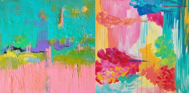 Featured Finds Colorful And Bright Abstract Art