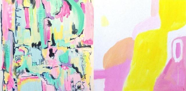 Bright Abstract Art