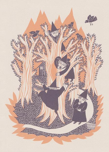 Print by artist Esther McManus