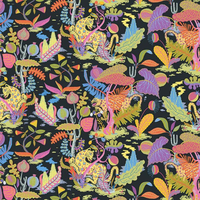 Textile Designer Llew Mejia