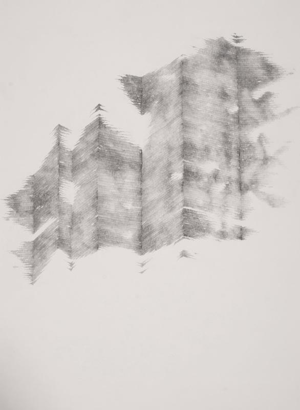 Geometrical Graphite Art