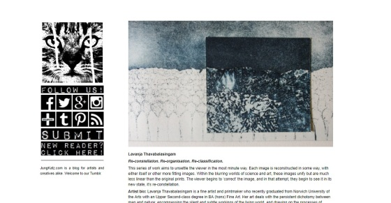 Introducing Tumblr Exclusive Features on Jung Katz Art Blog