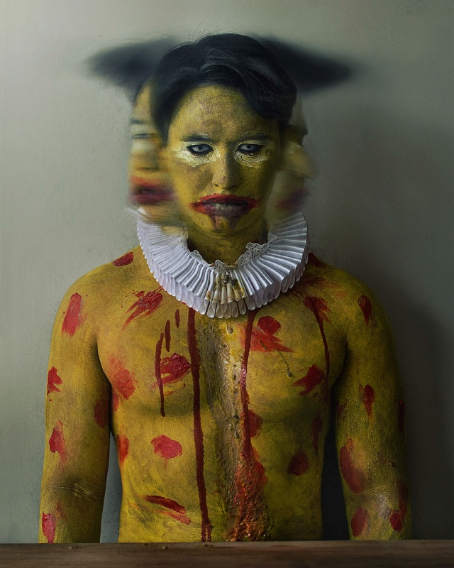 Jason Grim Self-Portrait Photography