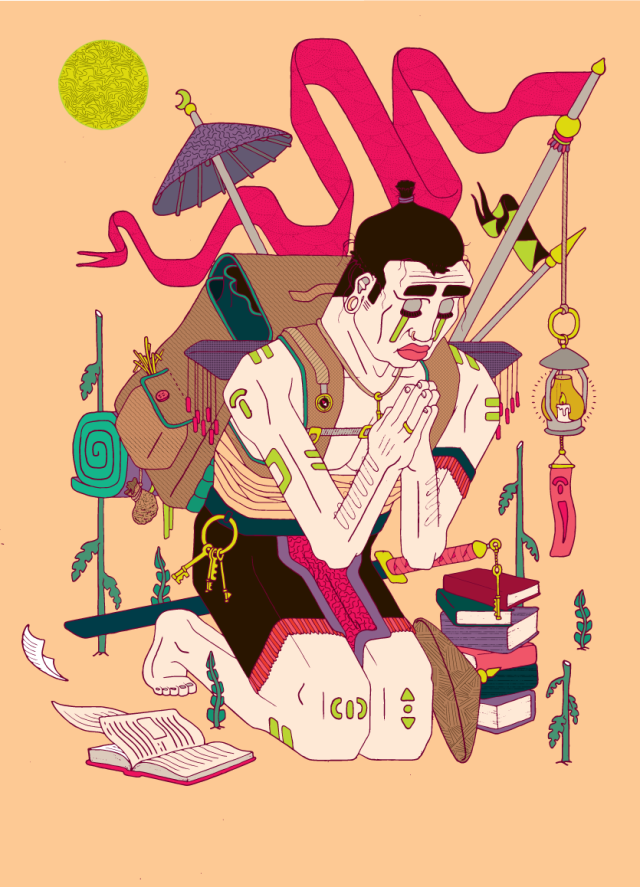 Tom Handy Illustration
