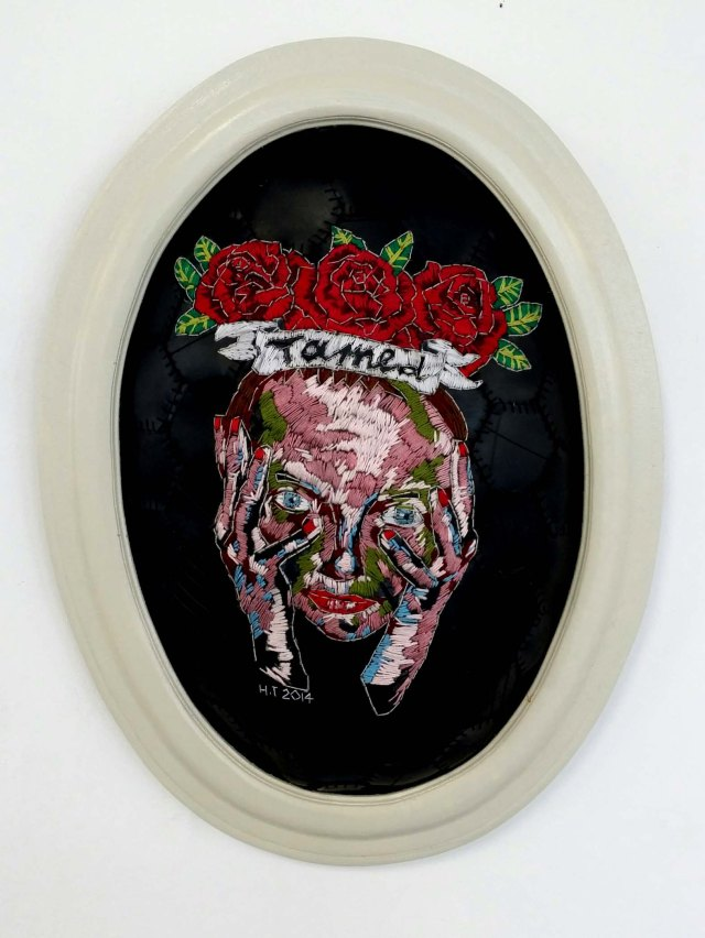Embroidery Artist, Hannalie Taute