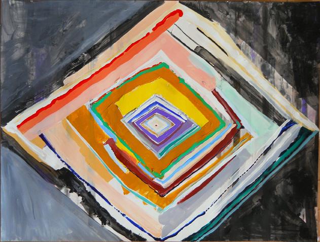 Painting by Artist, Jeremy Mitchell Pelt