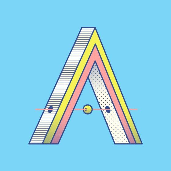Typography Art Daniel Aristizábal