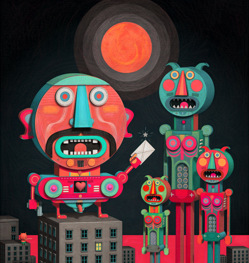 Interview with Illustrator, Matias Trillo on Jung Katz Art Blog