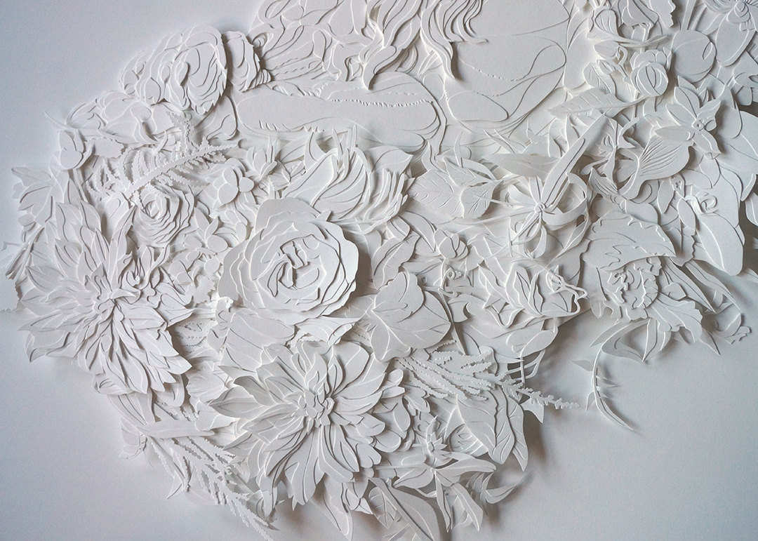 Interview with Cut Paper Artist, Joey Bates (NSFW) on Jung Katz Art Blog