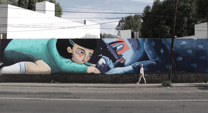Interview with Mural Artist, Cyrielle Tremblay aka CY on Jung Katz Art Blog