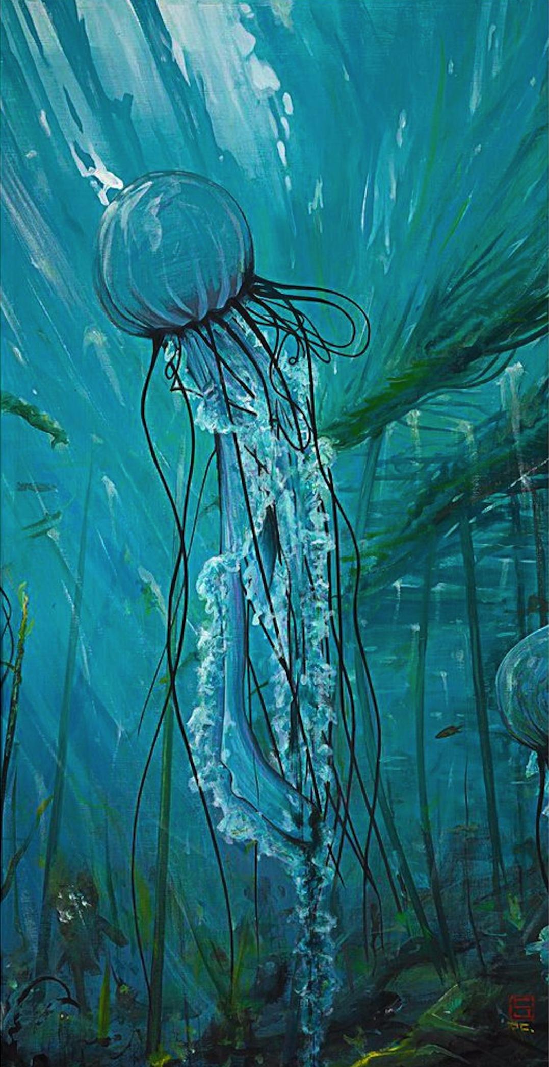 Interview with Painter, CJ Troxell on Jung Katz Art Blog