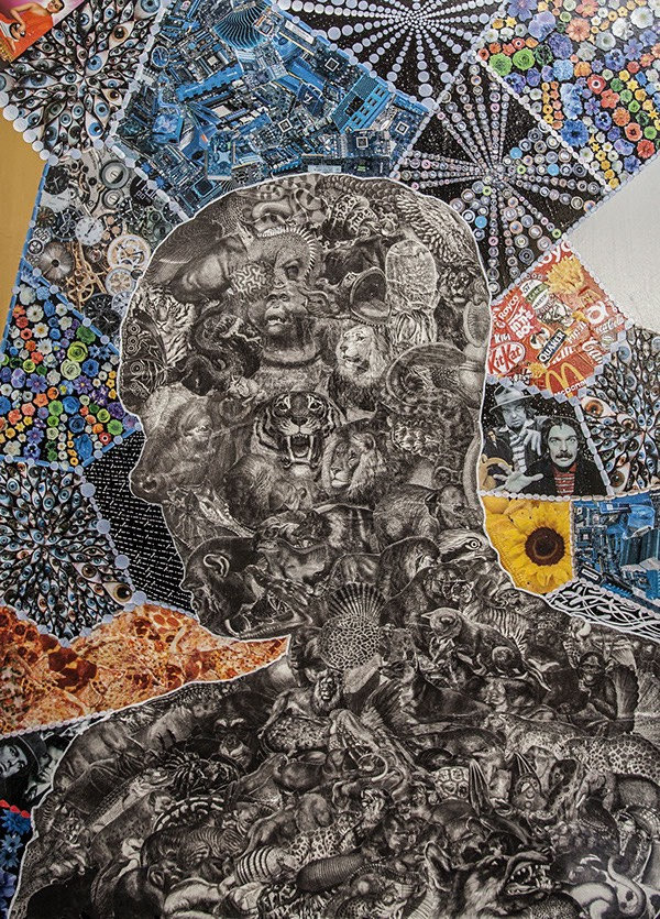 Interview with Collage Artist, David Crunelle on Jung Katz Art Blog
