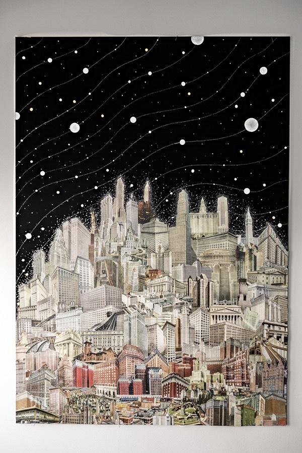 Interview with Collage Artist, David Crunelle on Jung Katz Art Blog