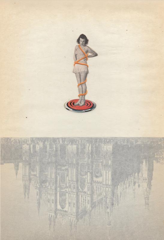 Interview with Mixed Media Collage Artist, Nina Dubois on Jung Katz Art Blog