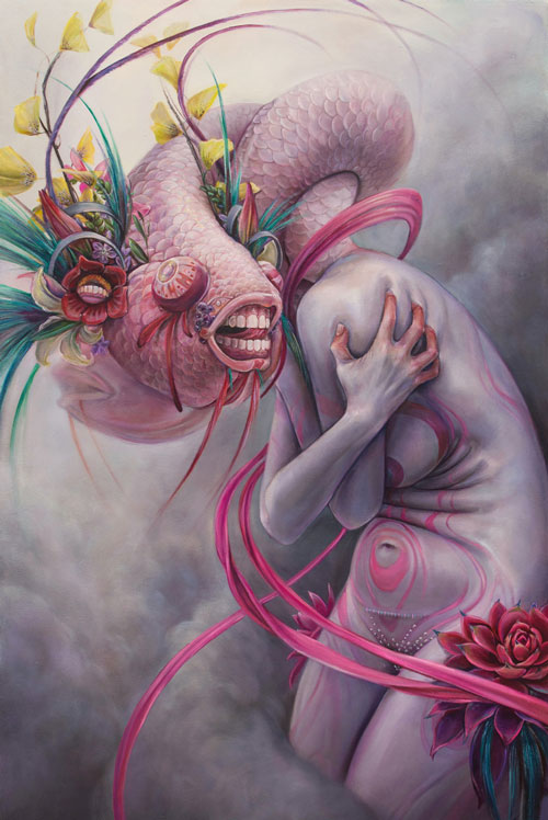 Beautifully Surreal and Psychedelic Paintings by Artist, Hannah Yata
