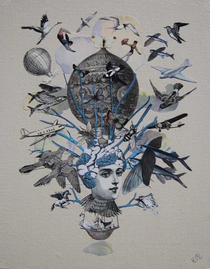 An Interview With Collage Artist, Katie McCann on Jung Katz Art Blog